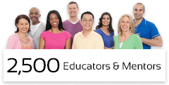 2,500 Educators & Mentors